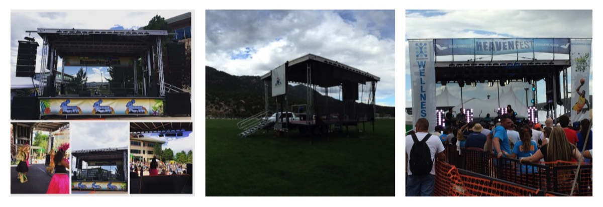 Summit Group Event Services|Mobile Staging, Audio Visual, Lighting